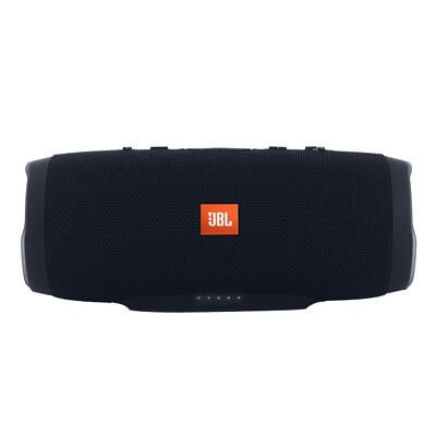 JBL Charge 3 Mobiler Lautsprecher schwarz kabelloses Bluetooth- Streaming