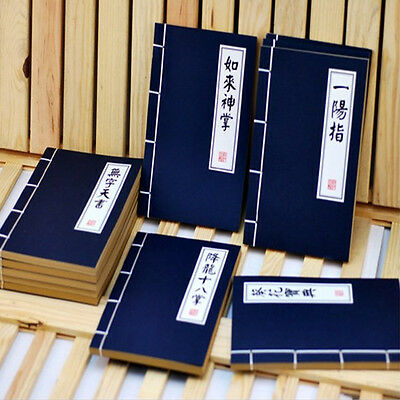 Chinese Kungfu Martial Notepad Journal Diary Memo Blank Page Notebook Stationery