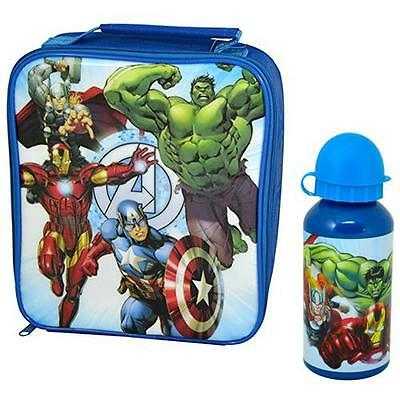 The Avengers - Assemble Lunch / Cool Bag And Bottle Set - New & Official