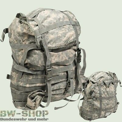 Original Us Army Rucksack 100L At-Digital Kampfrucksack O. Gestell Assault Pack