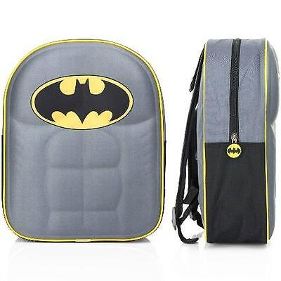 Batman - 3D Childs / Mini Backpack / Rucksack - New & Official With Tag
