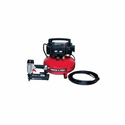 Porter-Cable Brad Nailer & Compressor Combo Kit PCFP12236 Reconditioned