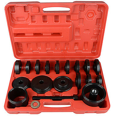 23Pc Front Wheel Drive Bearing Puller Removal Installation Tool Kit Set