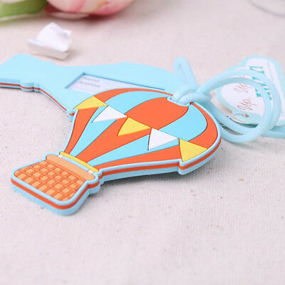 Hot Air Balloon Luggage Tag Label Travel Suitcase Baggage Bag Address Holder