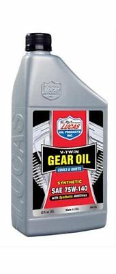 Lucas Oil Gear Oil V-Twin 75W140 1 qt. Each