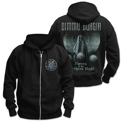 DIMMU BORGIR - Forces of the northern night Kapuzenjacke zipped hoodie