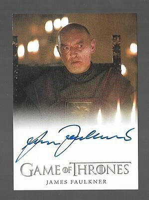 2017 Game of Thrones Season 6 James Faulkner as Randyll Tarly Auto