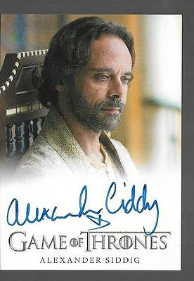 2017 Game of Thrones Season 6 Alexander Siddig as Doran Martell Auto EL