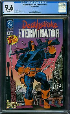 Deathstroke: The Terminator 1 CGC 9.6 - White Pages