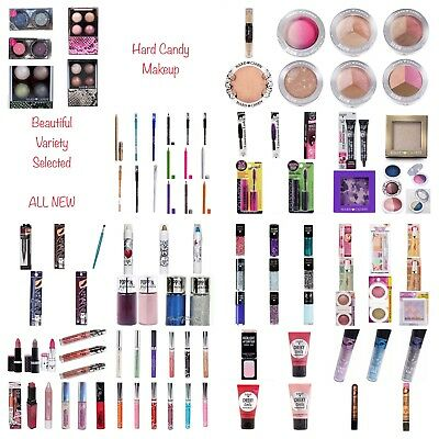 100 Items Hard Candy Wholesale Makeup Lot NEW & 2 OF EACH SHADE *Great Variety*