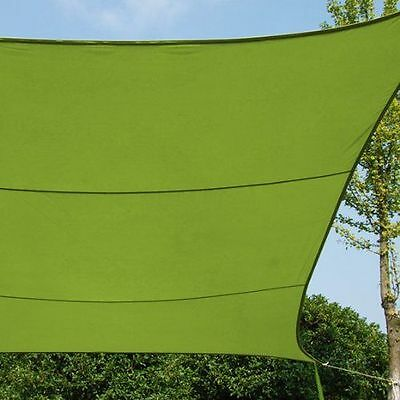 Provence Outillage 07327 Toile d'Ombrage Vert 3 X 4 m [Vert] - Eminza  NEUF