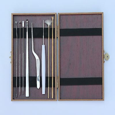 New 8pcs Multi-Function Ear Pick Wax Removal Cleaner Curette Care Tool Kit