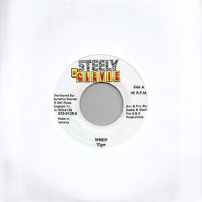 "Tiger - When (Reggae 7"" Single)"