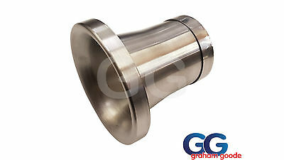 GGR Spun Aluminium Induction Kit Intake Trumpet 100mm