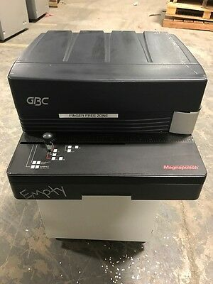 GBC Magnapunch Electric Hole Punch Machine Lot of 4 - TN