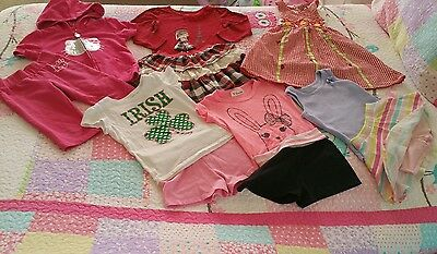 Huge lot of girl's clothes spring summer clothes size 4T