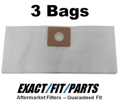 587-25-10 6x Vacuum Bags for Shop-Vac 587-34-00 586-61-10 H87S450 w// Micro Kit