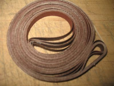 "6 pcs. 1/2 x 62"" sanding belts Assorted grit. Fits Sears Craftsman 12"" band saw"