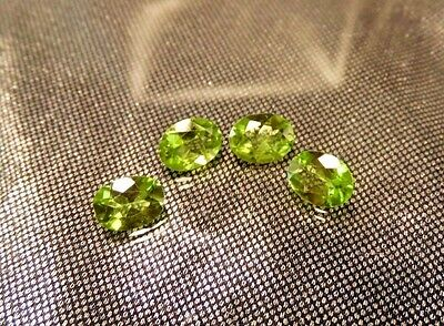 Jadeite Oval-Cut Gemstones