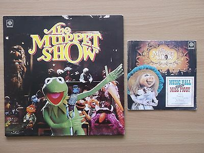 "The Muppet show lp + 7"" 4 Track Single all vinyl"