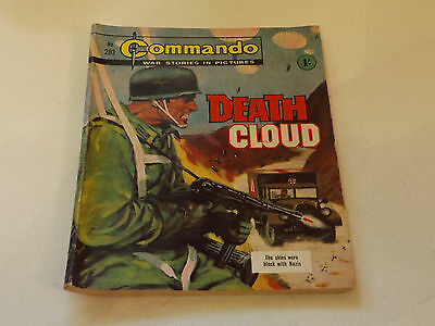 Commando War Comic Number 283!,1967 Issue,good For Age,50 Years Old,very Rare