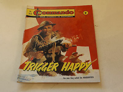 Commando War Comic Number 313!,1968 Issue,v Good For Age,49 Years Old,very Rare
