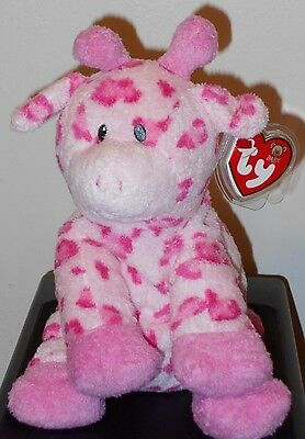 Baby Ty ~ BABY TIPTOP the Pink Giraffe - MINT with MINT TAGS ~ VERY RARE