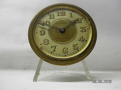 Vintage Tavannes Watch Co. 8 Day Wind-up Clock Insert for PARTS/REPAIR Only.