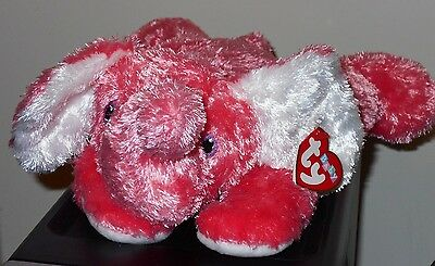 Baby Ty ~ ELEPHANTHUGS the Elephant - MINT with MINT TAGS ~ Stuffed Animal Plush