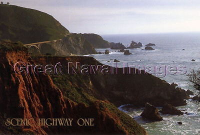 Scenic Highway One Bixby Bridge Monterey County California Unused  Post Card