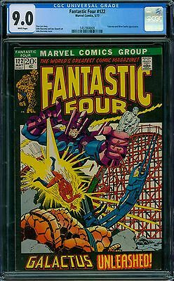 Fantastic Four 122 CGC 9.0 - White Pages