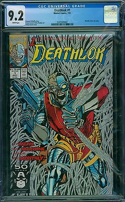 Deathlok 1 CGC 9.2 - White Pages