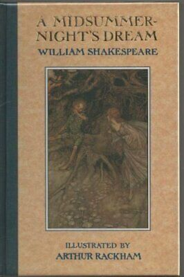 A Midsummer Night's Dream (The illustrated S... by Shakespeare, William Hardback