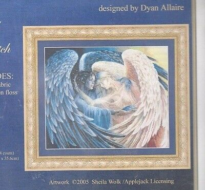 Day Surrendering to Night - embellished cross stitch kit by Kustom Krafts  NEW