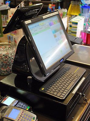 Hanasis All In One System Hi-D2550 Retail Point Of Sale, Touch Screen Terminal