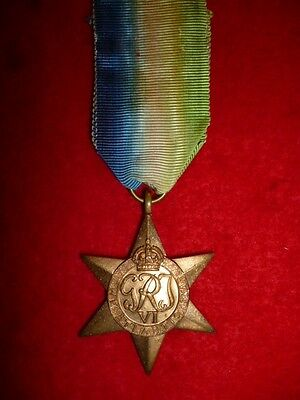 Original WW2 The Atlantic Star Medal Full Size