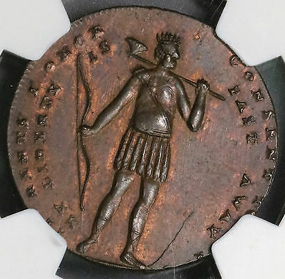 1794 NGC UNC *SPENCE & INDIAN* 1/2 Penny Conder Token Middlesex DH 684 16111305C