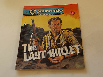 Commando War Comic Number 341!,1968 Issue,v Good For Age,49 Years Old,very Rare