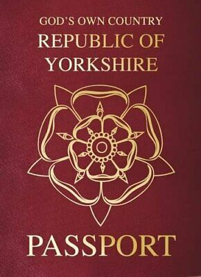 Yorkshire Passport by Lisa Firth Book The Cheap Fast Free Post