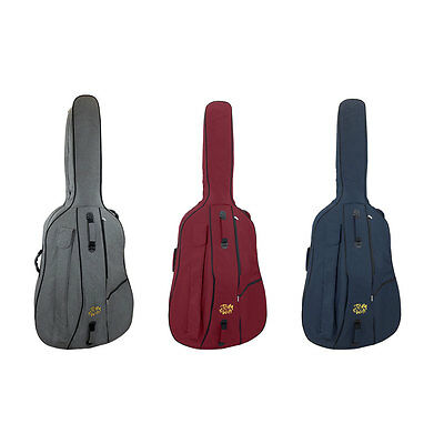 Tom & Will 46BS34Series Double Bass Gig Bag 3/4 Size in Various Colours