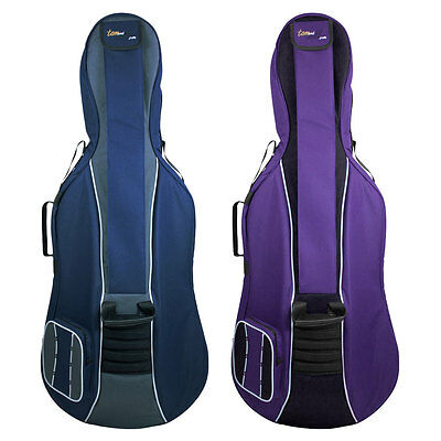 Tom & Will 41VC12 Series 1/2 Size Cello Gig Bag in Various Colours