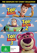 Toy Story 1 + 2 + 3 Trilogy (DVD, 2010, 3-Disc Set) BRAND NEW SEALED