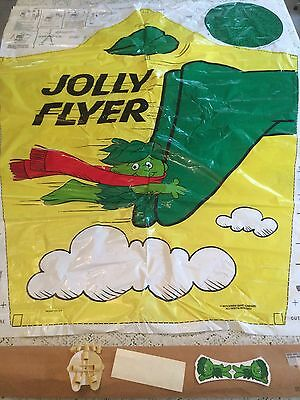 Jolly Green Giant Kite Jolly Flyer 1974 RARE in maling package with parachute