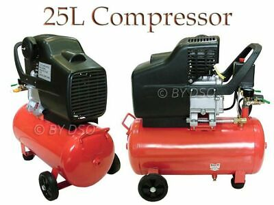 Professional Quality 24Ltr 240V Twin Outlet Air Compressor