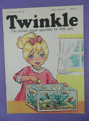 Twinkle Comic, Picture Paper For Little Girls #87, September 20th 1969