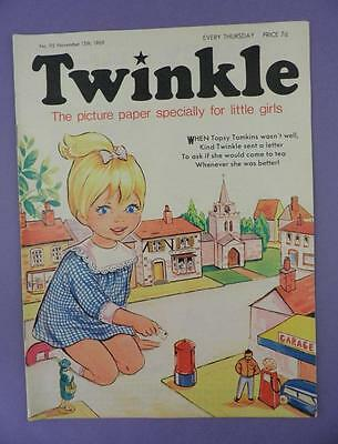 Twinkle Comic, Picture Paper For Little Girls #95, November 15th 1969
