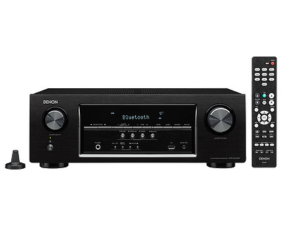 Denon AVR-S530BT 5.2 Channel Full 4K Ultra HD AV Receiver with Bluetooth