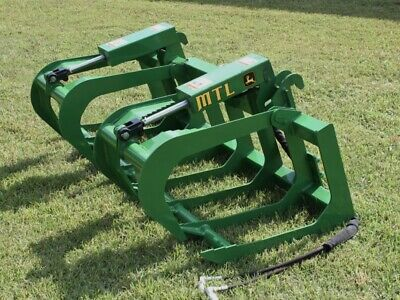 "MTL Attachments 72"" Root Grapple Bucket fits John Deere Tractor Loader"