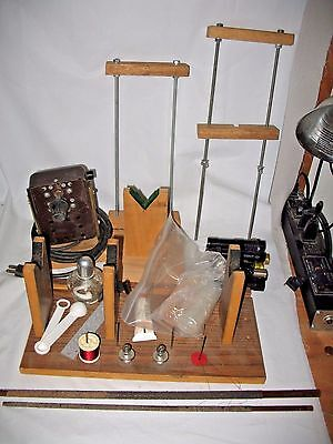 Big Lot Set ROD MAKING EQUIPMENT - cork seats clamp fly flex coat