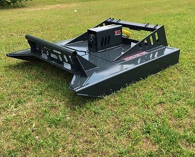 MTL attachment XC4 6' Skid Steer Rotary Brush Cutter-Bush Hog Std Flow-$199 Ship